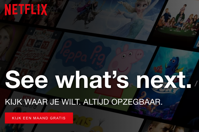 USP's in CTA - Netflix