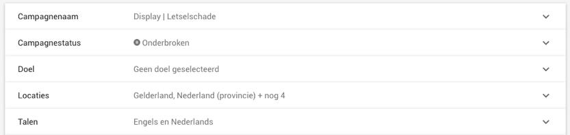Google Ads Locaties