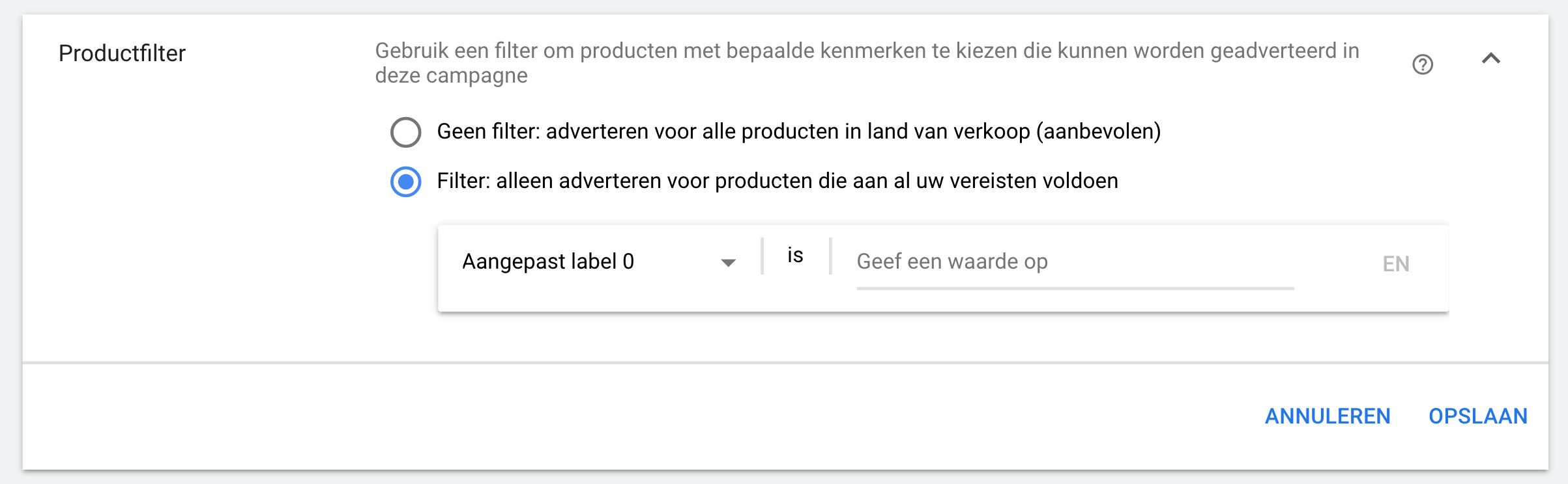 google-shopping-labels